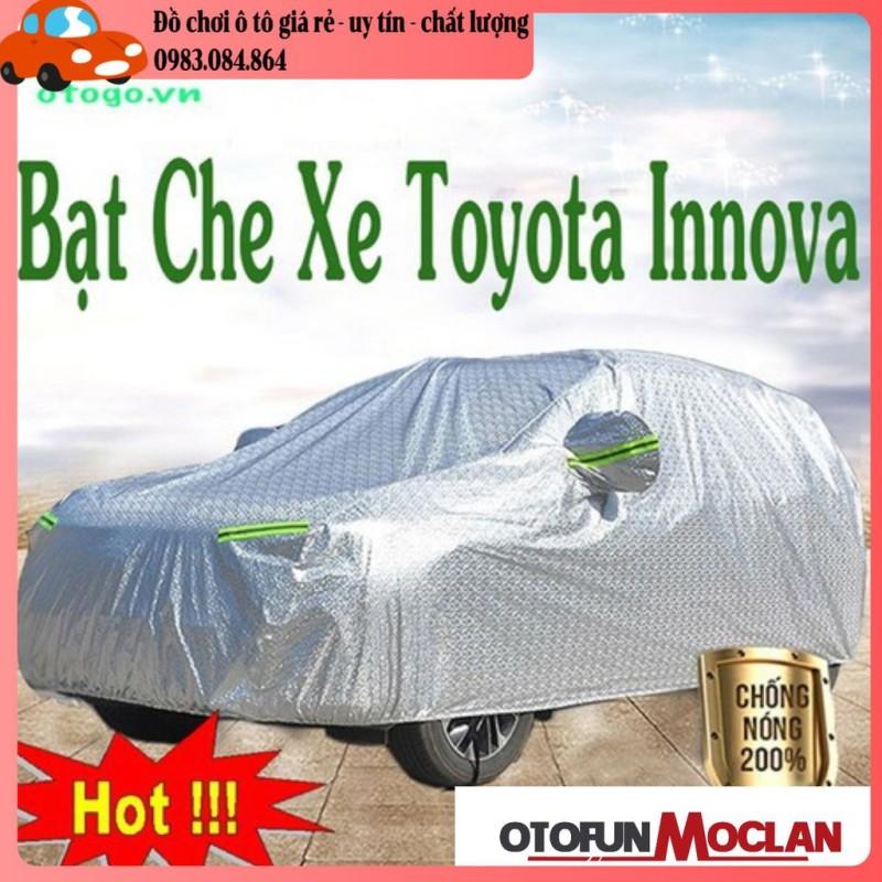 Bạt Che Phủ Xe Toyota Innova Cao Cấp (bạt 3 lớp Tráng Nhôm, chống xước)
