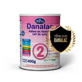 Sữa Danalac Formula dành cho trẻ từ 6 - 12 tháng 400g DF02400 thumbnail