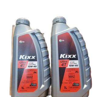 [DauNhot-PhuGia]nhớt Kixx Ultra 4T 10W40 fully Synthetic chai 1L, nhớt kixx 10W40 tổng hợp chai nhiều sự lựa chọn.-Chai 1L- thumbnail