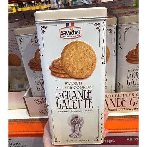 BÁNH QUY BƠ La Grande Galette French Butter Cookies