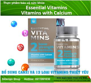 Thực phẩm bổ sung canxi Essential Vitamins Vitamins with Calcium thumbnail