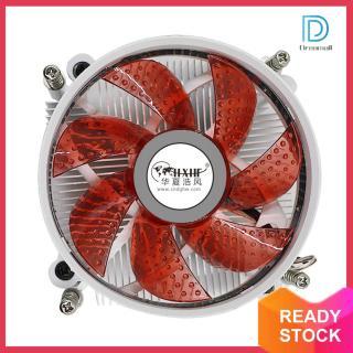 Quạt Làm Mát Yên Tĩnh Làm Mát CPU 90Mm, Đèn LED DC 12V, Thông Gió Cho LGA 1366 thumbnail