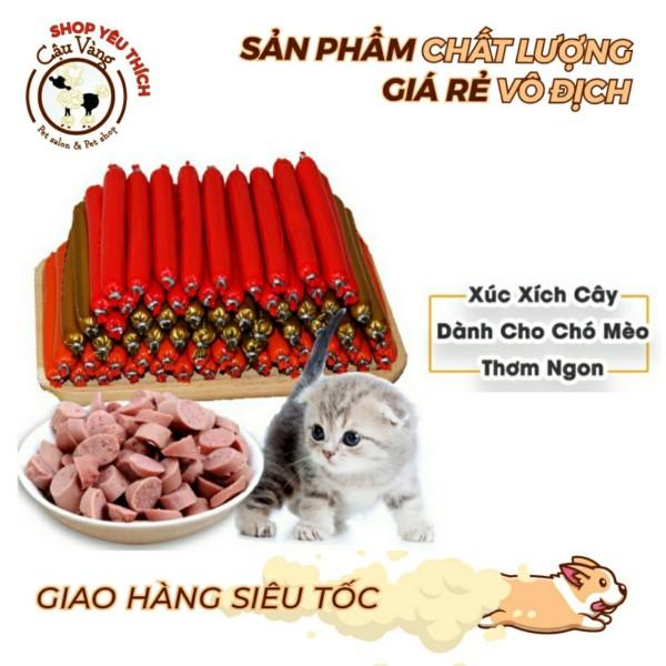 🌭 Xúc Xích Cho Chó Mèo Hamster Thú Cưng Giàu Dinh Dưỡng Giàu Vitamin, Đạm Bioline