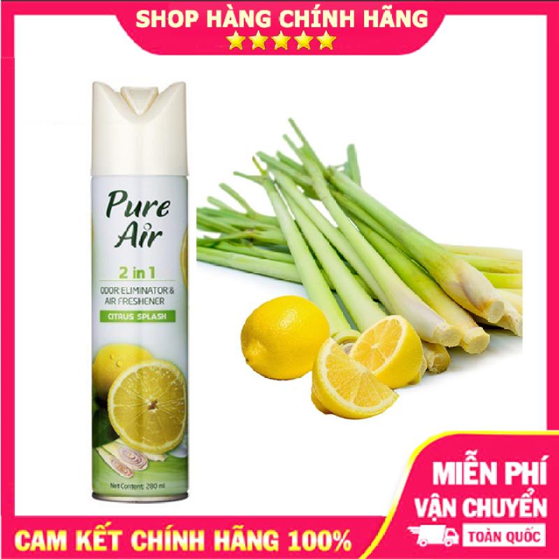 Xịt Phòng Pure Air Hương Xả Chanh 280Ml giá rẻ