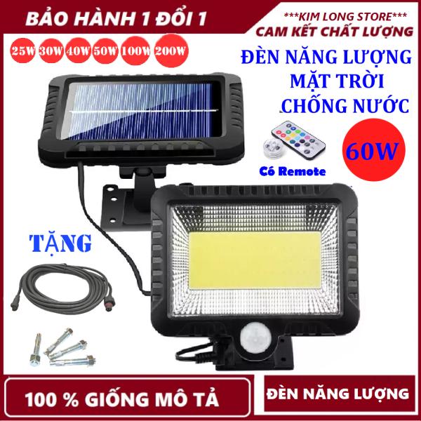 Bảng giá Đèn năng lượng mặt trời 60W , Chống nước dùng trong cả mùa mưa , đèn năng lượng mặt trời có điều khiển( remote) TẠI KIM LONG STORE