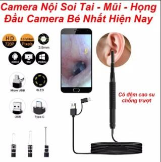Camera Noi Soi-Nội soi tai mũi họng, Soi bên trong máy móc, thiết bị để sửa chữa, Soi tìm và lấy vật dụng thất lạc ở vị trí sâu nhỏ- Chống nước - camera siêu nét thumbnail