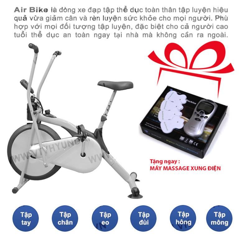 AIR BIKE - Xe tập thể dục tại nhà