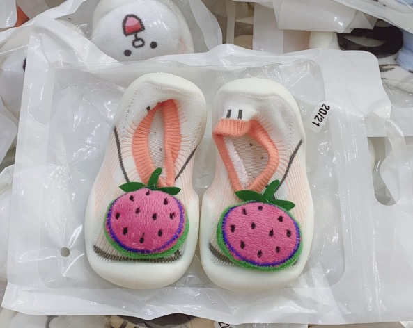 Giày bún tập đi cho bé giày bún hình thú 3d cho bé trai bé gái giá rẻ