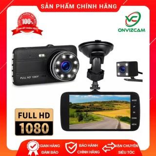 Camera hanh trình ô tô Full HD ONTEK 8LED, Camera trước sau thumbnail