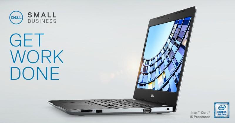 Laptop Dell Vostro 3480 (Intel Core i3-8145U (2.10 GHz/4 MB)/4GB RAM/1TB HDD/14.0 HD/Win 10 Home/Black/1Yr) - Hàng Chính Hãng