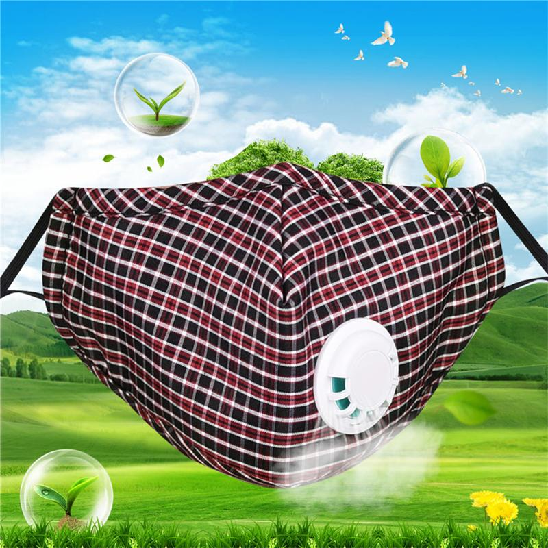 Combo 1 khẩu trang 5 màu sắc chống ô nhiễm phòng độc có thể giặt tái sử dụng cotton Unisex dị ứng/ hen suyễn/du lịch và 20 miếng lọc 5 lớp than hoạt tính an toàn cho sức khỏe dùng cho nam và nữ