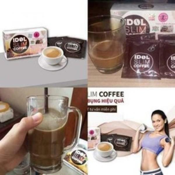 HỘP CAFE GIẢM CÂN IDOL SLIM AN TOÀN HIỆU QUẢ - 10 GÓI - - HỘP CAFE GIẢM CÂN - HỘP CAFE GIẢM CÂN cao cấp