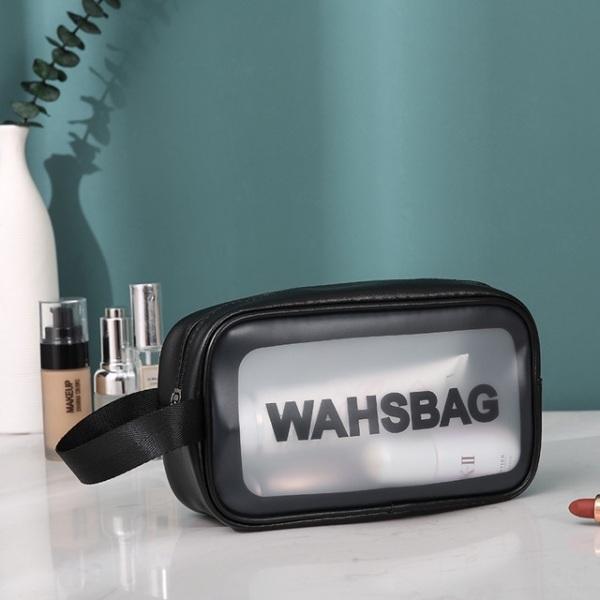 Túi đựng mỹ phẩm đồ trang điểm đi du lịch washbag trong suốt chống thấm nước HL8