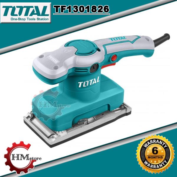 Máy Chà Nhám Gỗ Chữ Nhật Total TF1301826 - Máy chà nhám rung Total 320w Total - Máy chà nhám gỗ Total - Bảo hành c/hãng 6 tháng