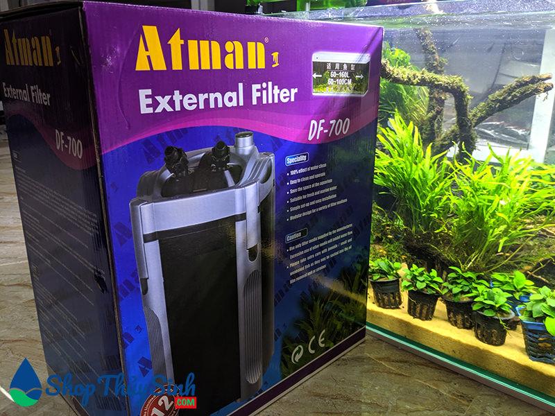 Lọc thùng Atman DF-700 lọc chuyên dụng cho hồ thủy sinh và cá cảnh