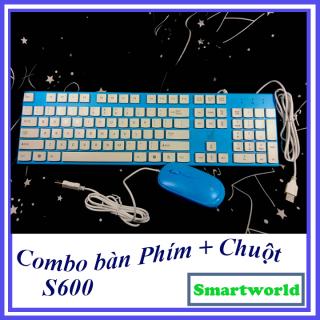 Combo bàn phím và chuột cực sịn dành cho dân văn phòng, thiết kế trẻ trung, gọn gàng xinh xắn, được bảo hành 6 tháng thumbnail