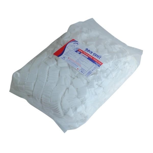 bông gòn y tế bạch tuyết cắt sẵn 3x3 cm gói 500gam