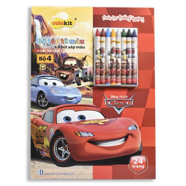 Mua Tập tô màu Colokit Disney Cars CB-C022/CA