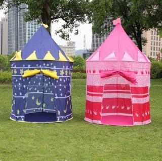 Lều vải khung thép dẻo siêu bền cho bé trai và bé gái chơi trong nhà, cắm trại, picnic,...Leu vai khung thep deo sieu ben cho be trai va be gai choi trong nha, cam trai, picnic,... thumbnail
