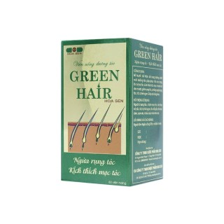 Viên Uống Dưỡng Tóc GREEN HAIR 60 Viên thumbnail