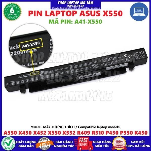 Bảng giá (BATTERY) PIN LAPTOP ASUS X550 (A41-X550) (4 CELL) dùng cho A550 X450 X452 X550 X552 R409 R510 P450 P550 K450 Phong Vũ