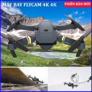 Flycam mini ,fly cam 4k giá rẻ có camera Ultra HD 4K cực khủng,máy bay điều khiển từ xa góc rộng 2.0MP 720p,Động cơ mạnh mẽ,Thiết Kế Cánh Gập,Định vị thông minh TỰ ĐỘNG QUAY VỀ vị trí xuất phát nếu bị mất kết nối thumbnail