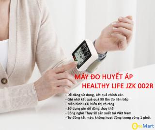 Máy đo huyết áp Omron Nhật Bản-MÁY ĐO HUYẾT ÁP JZK-003R LOẠI TỐT, đo chính xác 100% tình trạng huyết áp BH 12 THÁNG thumbnail