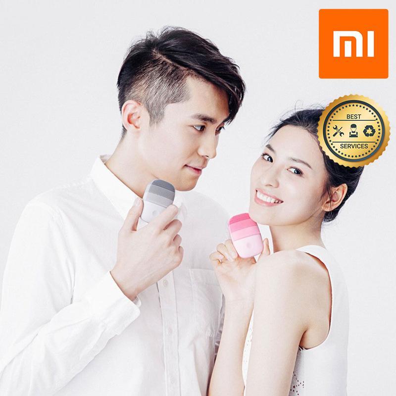 Máy rửa mặt sóng âm Xiaomi (Xám)  inface  YP3008053 Máy massage mặt  inface chính hãng