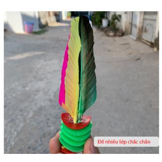 Cầu đá lông gà đế nhựa dày Hữu Nghị HT48 (Bộ 2 quả) thumbnail