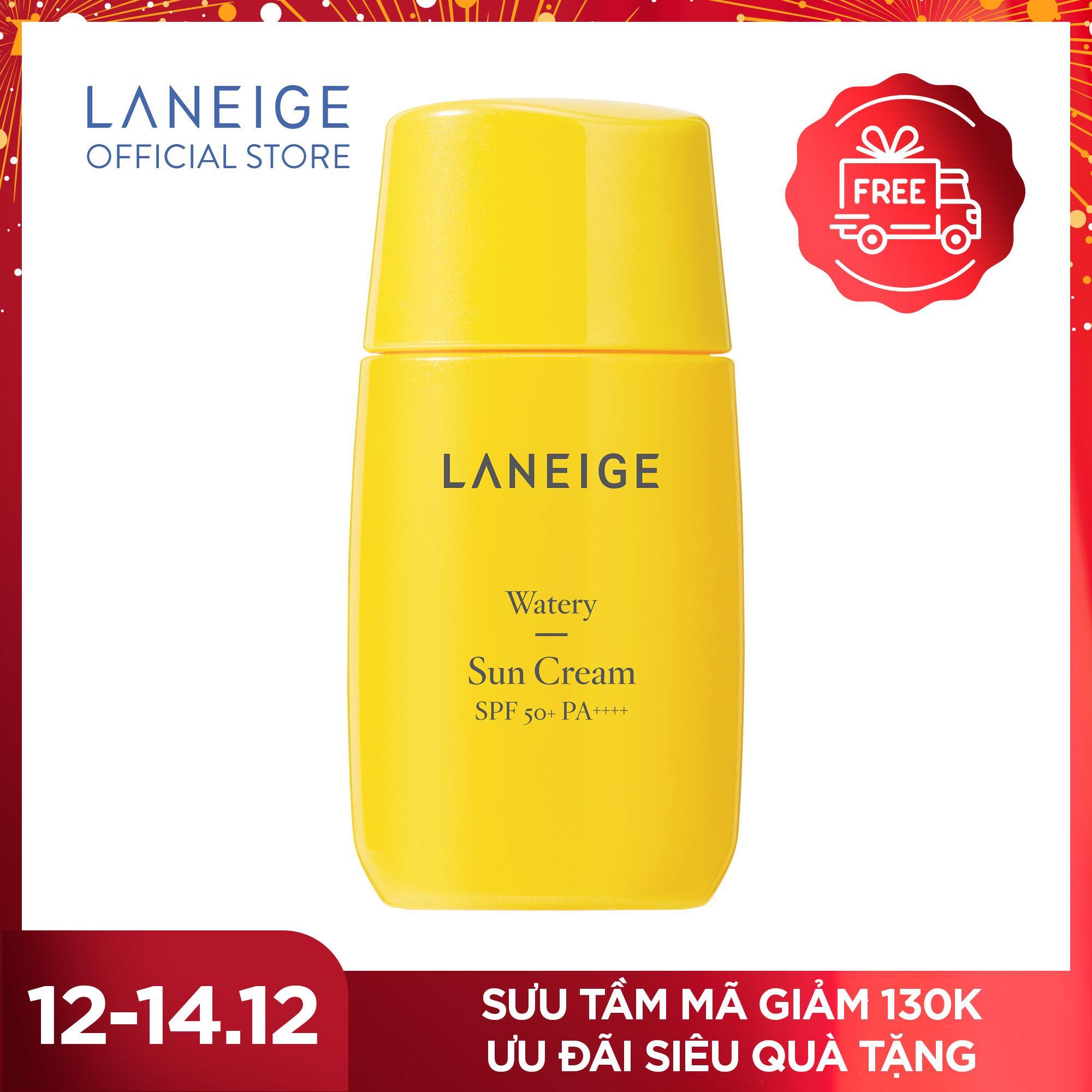 Kem Chống Nắng Cho Da Thường Và Da Khô Laneige Watery Sun Cream SPF50+ PA++++ 50ml Đang Ưu Đãi