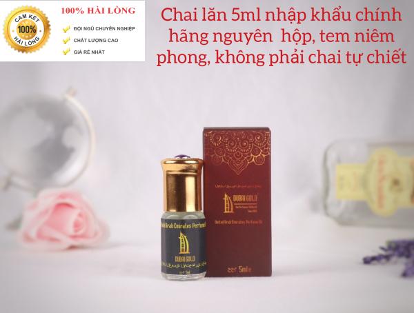 (Giá dùng thử)Tinh dầu nước hoa Dubai. Hàng nhập khẩu chính hãng nguyên chai 5ml