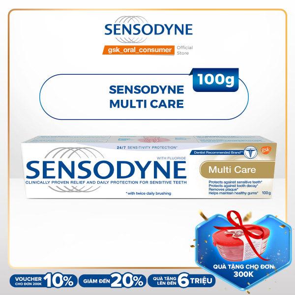 Kem đánh răng Sensodyne Multi Care 100g cao cấp