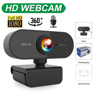 Máy tính camera HD hỗ trợ Live streaming học tập và làm việc trực tuyến tại các cuộc họp tại nhà thumbnail