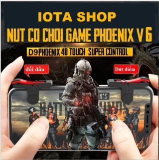 Nút bấm chơi game D9 PUBG mới nhất Nút bấm chơi gane điện thoại mobile PUBG ROS FRIFRE bản nâng cấp của nút bấm C9 thumbnail