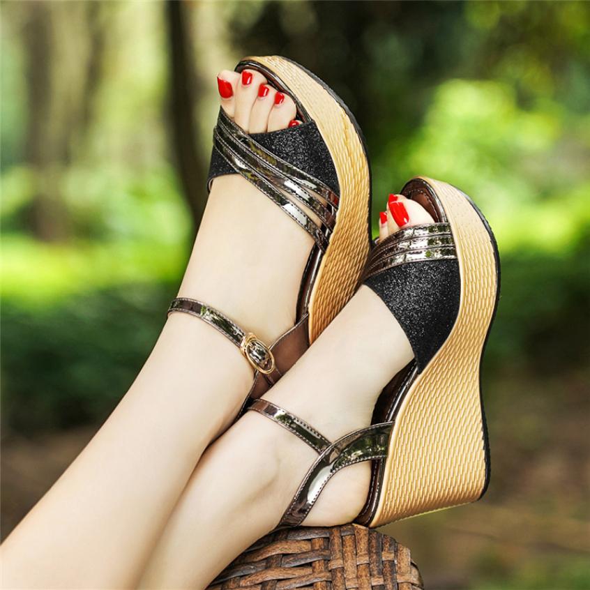 Sandal Nữ Đế Xuồng Sang Trọng 2020 - SD399 giá rẻ