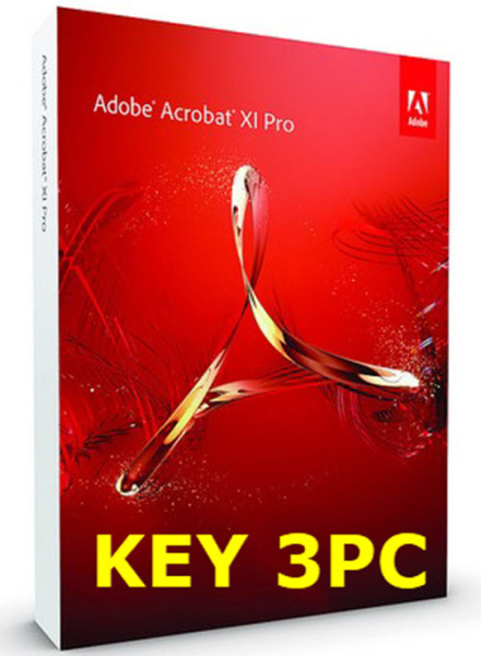Bảng giá Phần mềm tạo sửa PDF Adobe Acrobat XI Pro - Key 3PC Phong Vũ