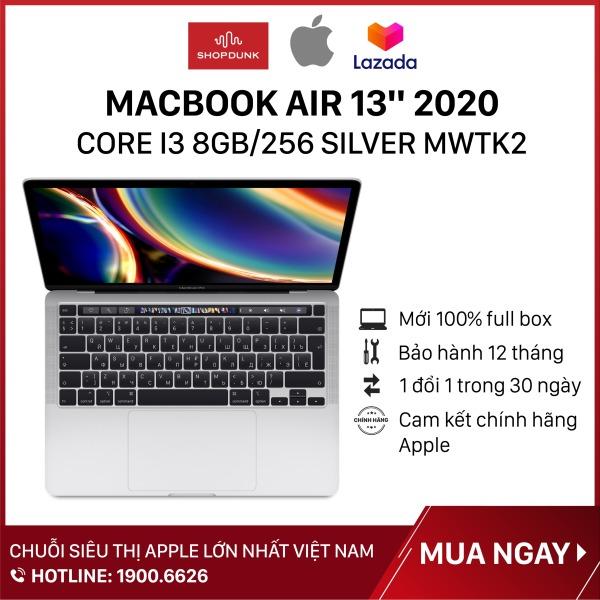 Bảng giá Laptop Macbook Air 13 inch 2020 core i3 8GB/256GB, Hàng chính hãng Apple, Hàng mới 100%, Nguyên seal, Bảo hành 12 tháng Phong Vũ