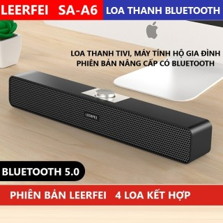 Loa thanh Vi tính Phiên bản nâng cấp có Bluetooth, Loa Tivi, Loa Vi Tính Phù Hợp cho các hộ gia đình. Phiên bản Loa Thanh nâng cấp có kết nối Bluetooth, có thể Kết nối Qua dây Hoạc qua Bluetooth thumbnail