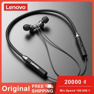 Tai Nghe Bluetooth Lenovo HE05 Tai Nghe Thể Thao Chống Nước IPX5 Tai Nghe Không Dây Đeo Cổ Từ Tính Với Mic Đối Với iPhone Android thumbnail