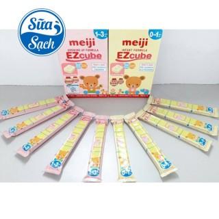 Sữa Bột Meiji Thanh Nhập Khẩu Số 0 27G (Bán Lẻ Thanh) Date T8 2022 thumbnail