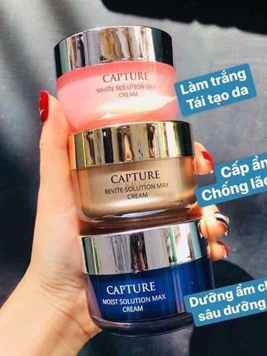 kem dưỡng AHC Capture Solution Max cream - Chuẩn Hàn tốt nhất