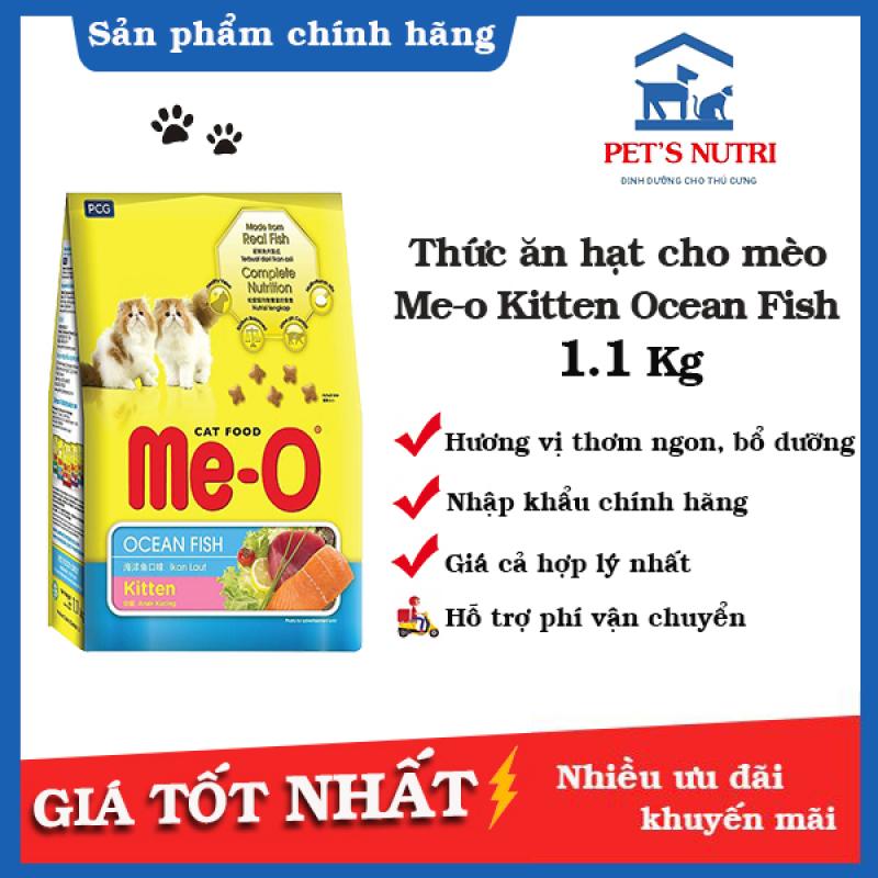 Thức ăn cho mèo con vị cá ngừ Me-O kitten 1.1kg