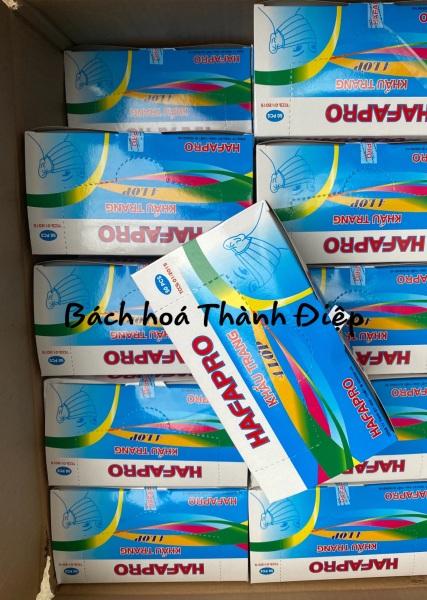 10 hộp Khẩu Trang Y Tế 4 xanh  Lớp Hafapro Hộp 50 Cái