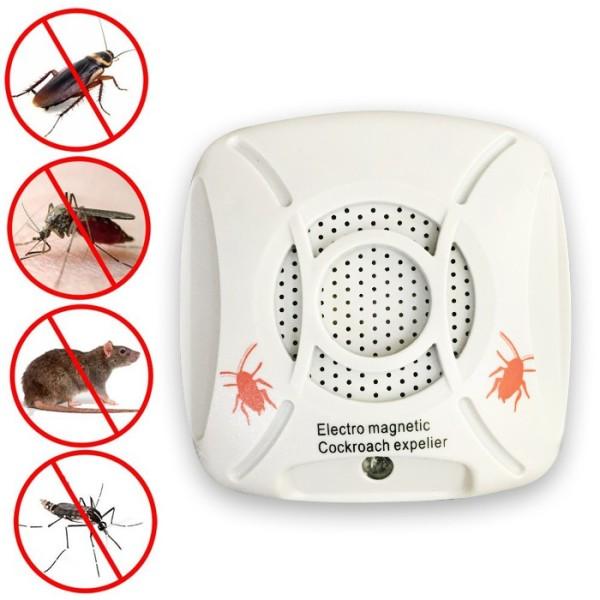 Máy đuổi muỗi bằng sóng âm - Den Chong Muoi, Thiết Bị Đuổi Muỗi, Chuột, Gián Mối MọtUlstrasonic Pestchaser