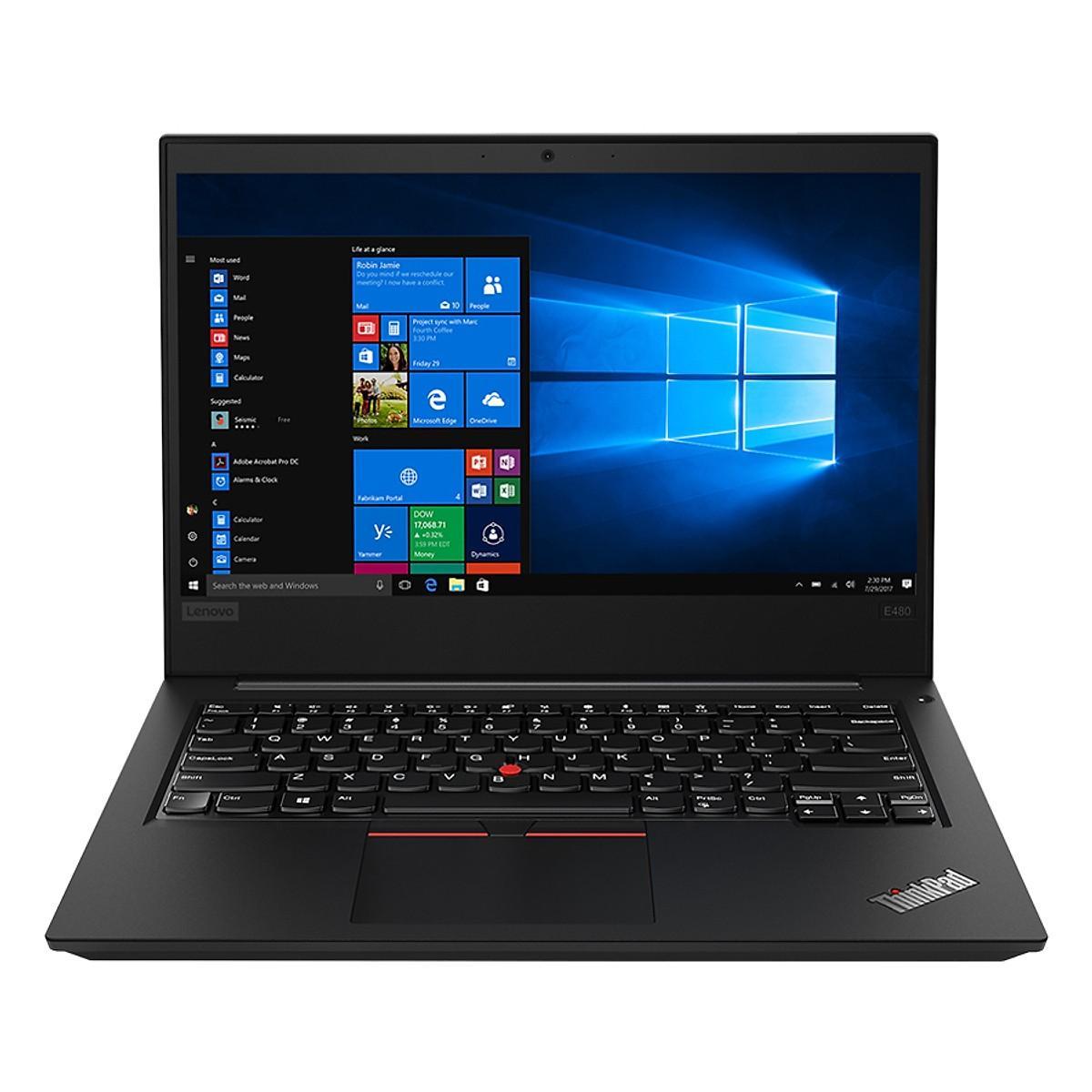 Laptop Lenovo ThinkPad Edge E480 20KN005HVN Core i5-8250U/Win10 (14 inch) (Black)