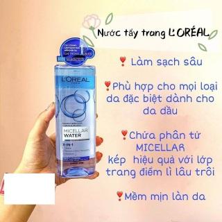 Nước Tẩy Trang Loreal - Micellar Water 3in1 400ml thumbnail