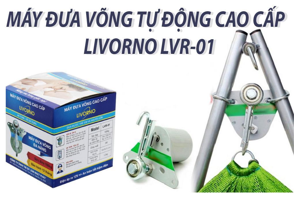 Máy đưa Võng Trẻ Em Tự động Cao Cấp Livorno LVR-01 Giá Quá Tốt Phải Mua Ngay