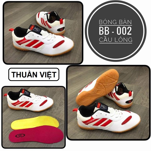 BB-002   Giày Cầu lông   Giày Bóng bàn   Sản phẩm Thuần Việt đa chức năng - Chí Phèo BB 002 giá rẻ