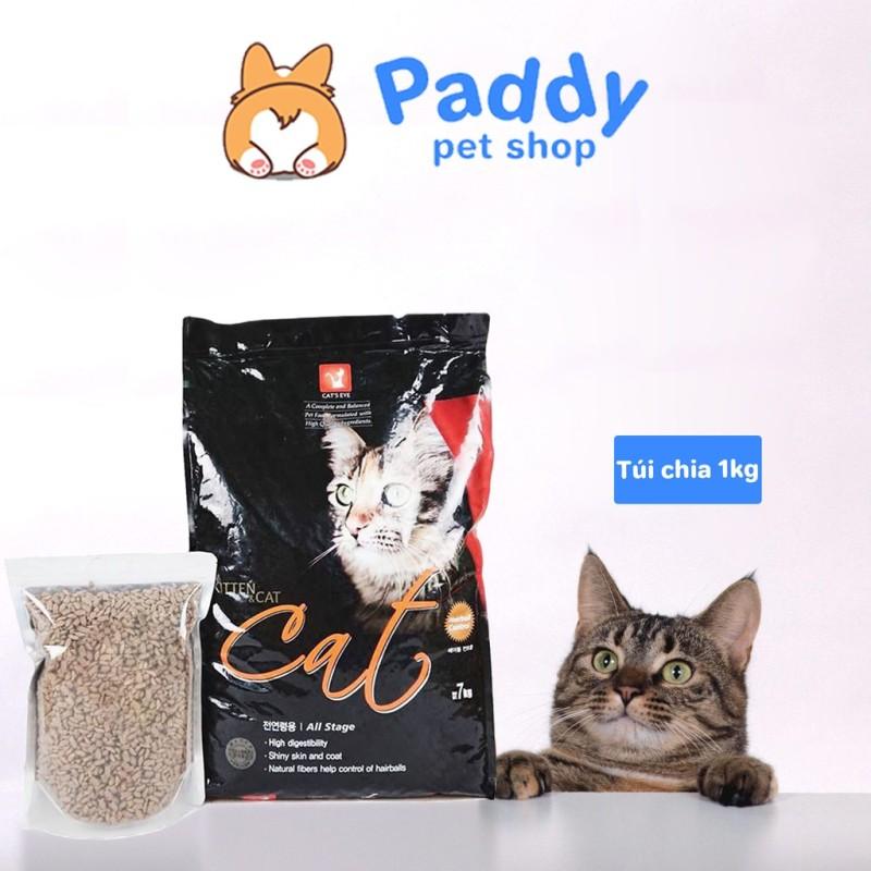 Thức Ăn Hạt Cho Mèo Cats Eye Kitten & Cat - Túi Chia 1kg