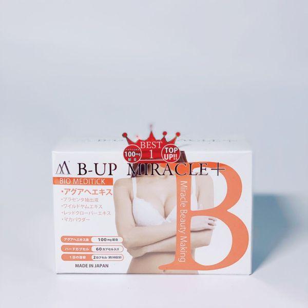 Viên Uống Nở Ngực B-Up Miracle 60 Viên Nhật Bản giá rẻ
